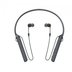 소니 블루투스 이어폰 WI-C400/BZ E 블랙, 개