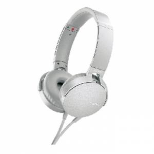 소니 헤드폰 MDR-XB550AP/WCE 화이트, 개