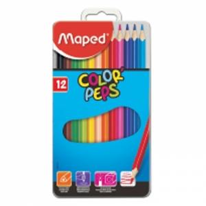 마패드 컬러펩스 틴 일반색연필 12색, 개