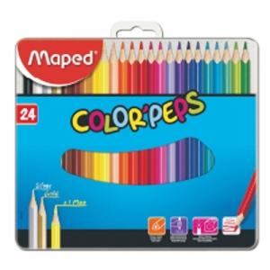 마패드 컬러펩스 틴 일반색연필 24색, 개