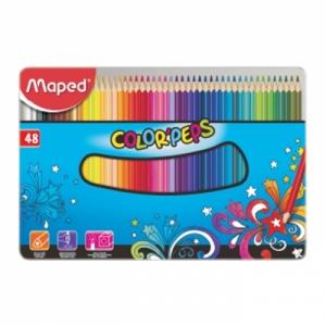 마패드 컬러펩스 틴 일반색연필 48색, 개