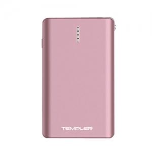 템플러 보조배터리 퓨전 10,000mAh 핑크, 케이블일체형, 개