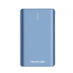 템플러 보조배터리 퓨전 10,000mAh 블루, 케이블일체형, 개