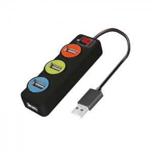 코시 USB허브 UH1226, 신호등 4포트, 개