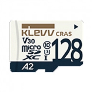 KLEVV 메모리카드 microSD⑩ 128G, CRAS 아답터, 개