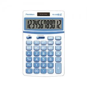 펜맨 계산기 PD-352 블루 107*172*28mm, 개