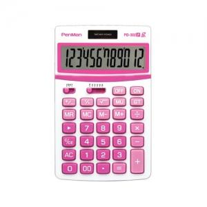 펜맨 계산기 PD-352 핑크 107*172*28mm, 개