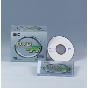 SKC DVD-R 1P 4.7GB 16x 슬림케이스, 개