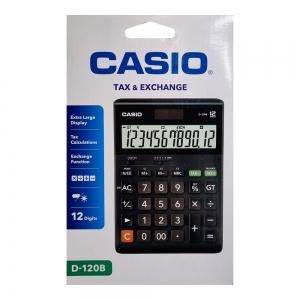 카시오 계산기 D-120B, 126*175*35mm, 개