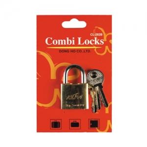 콤비락 황동 키자물쇠(25mm) CL-202B, 개