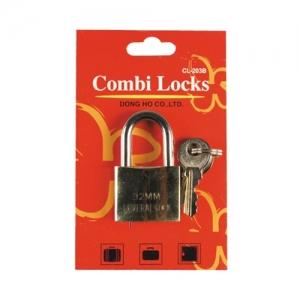 콤비락 황동 키자물쇠(32mm) CL-203B, 개