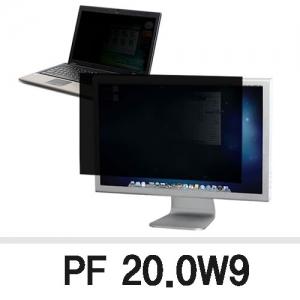 3M 프라이버시 필터 PF20.0W9, 와이드20.0형 16:9, 443*250mm, 개