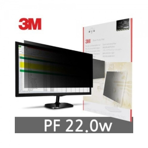 3M 프라이버시 필터 PF22.0W, 와이드22.0형 16:10, 474*297mm, 개