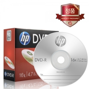HP/DVD-R(낱장) / 4.7GB/16x, 개
