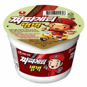 농심 짜파게티 범벅 BOX (70g*30개입), 박스