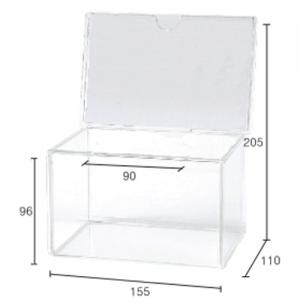유니온 DG 다용도 투명박스(F7001) 592901, 개