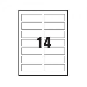 3M 일반형 주소용라벨 21314-20, 14칸 20매, 개
