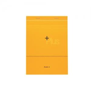 더블에이 플러스 노트패드 A4 옐로우 60매, 개