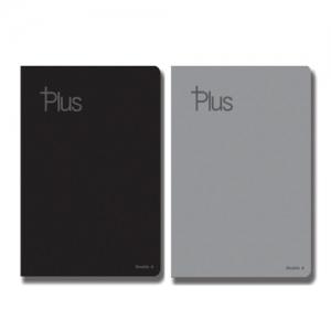 더블에이 플러스 양장플래너 A5 블랙 80매, 개
