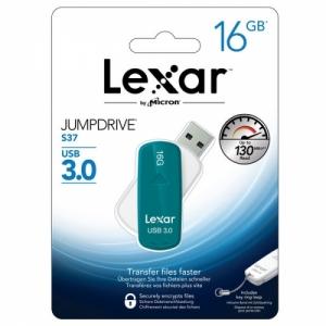 렉사 USB메모리 점프드라이브 S37 16GB, 스윙 USB3.0, 개